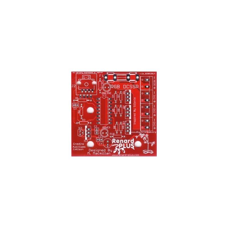 Renard Plus 3 Channel (RGB) DCSSR Board