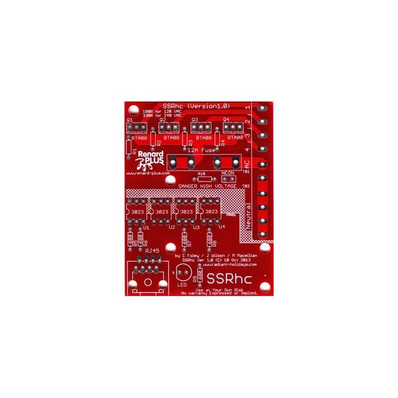SSRhc 4 Channel Relay Board