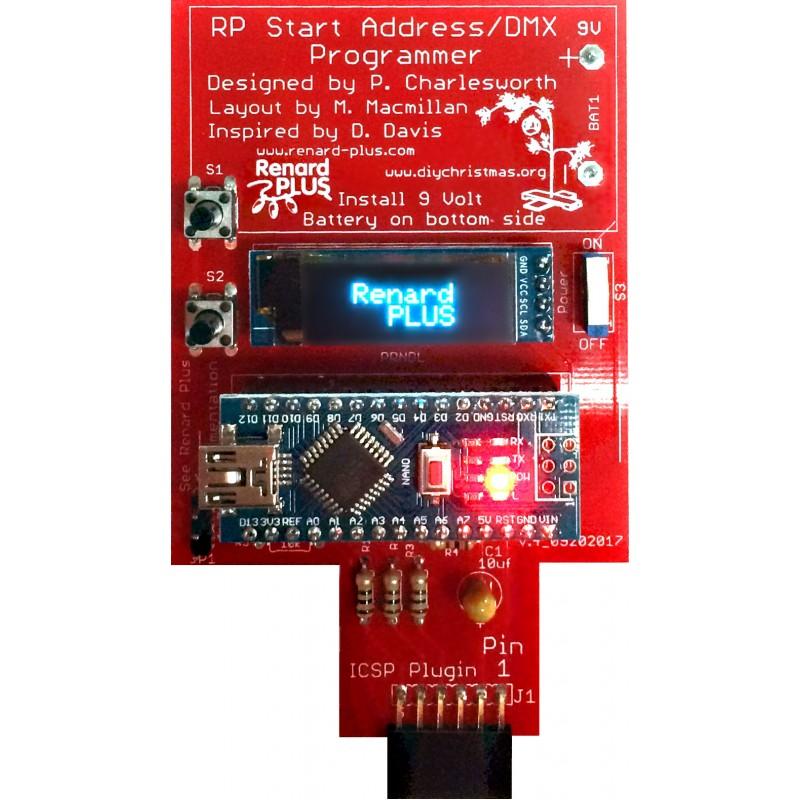 Start Address/DMX Programmer Kit