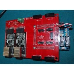 16 Universe Pixel Controller Kit rev D